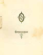 Thumbnail image of Washington County High School 1914 Commencement cover