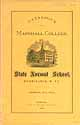 Thumbnail image of Marshall College 1876 Catalogue cover