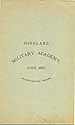 Thumbnail image of Highland Military Academy 1887 Catalogue cover