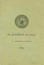 Thumbnail image of St. Johnsbury Academy 1897 Catalogue cover