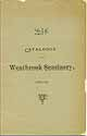 Thumbnail image of Westbrook Seminary 1892-93 Catalogue cover