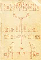 Thumbnail image of The Parrot 1926 Year Book cover