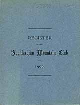 Thumbnail image of Appalachian Mountain Club 1909 Register cover