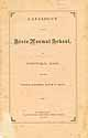 Thumbnail image of Westfield State Normal School 1870 Catalogue cover