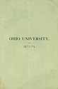 Thumbnail image of Ohio University 1873-74 Catalogue cover