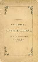 Thumbnail image of Lawrence Academy 1848 Catalogue cover