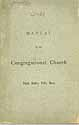 Thumbnail image of South Hadley Falls Congregational Church 1878 Manual cover