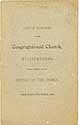 Thumbnail image of Williamsburg Congregational Church 1884 List of Members cover