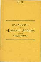 Thumbnail image of Lawrence Academy 1889-90 Catalogue cover