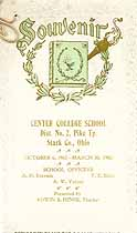 Thumbnail image of Center College School 1904 Souvenir cover