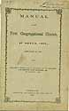 Thumbnail image of Norwich First Congregational Church 1868 Member List cover