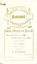 Thumbnail image of Coventry School 1898 Souvenir cover
