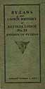 Thumbnail image of Aetolia Lodge No. 24 List of Past Chancellors cover