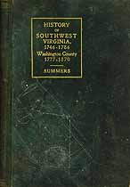 Thumbnail image of History of Southwest Virginia and Washington County cover