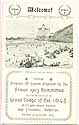 Thumbnail image of Grand Lodge of Cal. I.O.G.T. 1903 Events Program cover