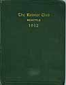 Thumbnail image of The Rainier Club 1912 Roster of Members cover