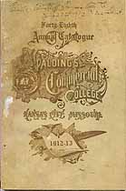 Thumbnail image of Spalding's Commercial College 1912-13 Catalogue cover