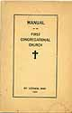 Thumbnail image of Mt. Vernon First Congregational Church 1924 Manual cover