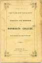 Thumbnail image of Monmouth College 1862 Catalogue cover