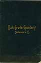 Thumbnail image of Oak Grove Cemetery 1899 Lot Owners cover