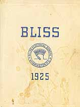 Thumbnail image of Bliss Electrical School 1925 Commencement cover