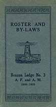 Thumbnail image of Beacon Lodge No. 3 Roster of 1928 Members cover