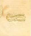 Thumbnail image of Perry High School 1905 Commencement cover