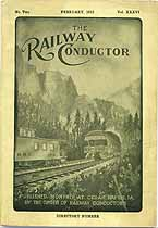 Thumbnail image of The Railway Conductor, Vol. XXXVI, No. Two cover