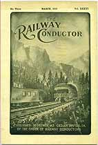 Thumbnail image of The Railway Conductor, Vol. XXXVI, No. Three cover