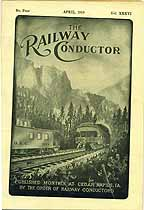 Thumbnail image of The Railway Conductor, Vol. XXXVI, No. Four cover