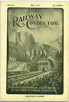 Thumbnail image of The Railway Conductor, Vol. XXXVI, No. Five cover