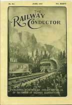 Thumbnail image of The Railway Conductor, Vol. XXXVI, No. Six cover