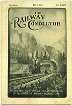 Thumbnail image of The Railway Conductor, Vol. XXXVI, No. Seven cover