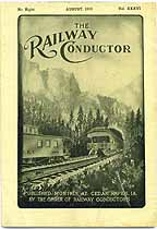 Thumbnail image of The Railway Conductor, Vol. XXXVI, No. Eight cover