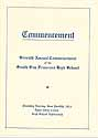Thumbnail image of South San Francisco High School 1924 Commencement cover