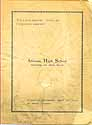Thumbnail image of Altoona High School 1901 Commencement cover