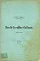 Thumbnail image of North Carolina College 1885-1886 Catalogue cover