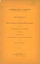 Thumbnail image of Philosophical Society of Washington Bulletin Vol. XII cover