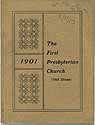 Thumbnail image of Cleveland First Presbyterian Church 1901 Directory cover