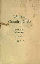 Thumbnail image of Winona Country Club 1925 Members cover