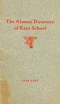 Thumbnail image of Kent School 1926-1927 Alumni Directory cover