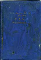 Thumbnail image of Dallas Lodge, No. 508, List of 1920 Members cover