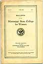 Thumbnail image of Mississippi College for Women 1925 Bulletin cover