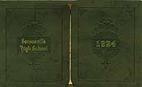 Thumbnail image of Senecaville High School 1924 Graduation cover