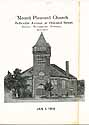 Thumbnail image of Mount Pleasant Church Jan 5 1919 Program cover