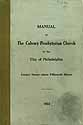 Thumbnail image of Calvary Presbyterian 1914 Church Members cover