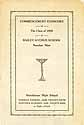 Thumbnail image of Bailey Avenue School 1929 Commencement cover