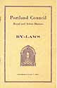 Thumbnail image of Portland Council R. & S. M. 1929 By-Laws cover