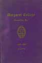 Thumbnail image of Margaret College 1908-09 Spring Bulletin cover