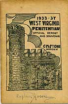 Thumbnail image of West Virginia Penitentiary 1933-37 Report cover